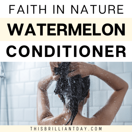 Faith In Nature Watermelon Conditioner - Review