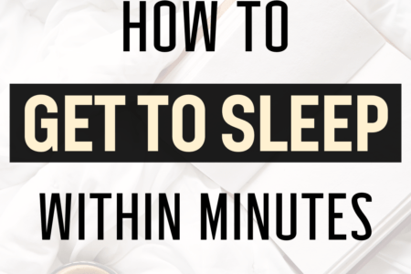 How To Get To Sleep Within Minutes