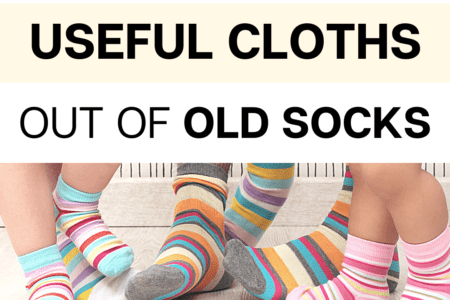 How To Make Useful Cloths out of Old Socks