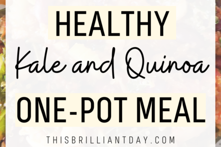 Healthy Kale and Quinoa One-Pot Meal
