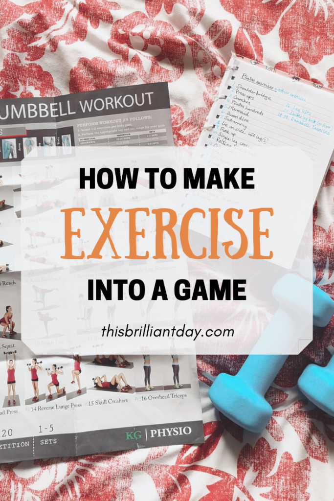 How to Make Exercise into a Game