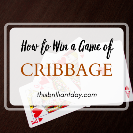 How to Win a Game of Cribbage