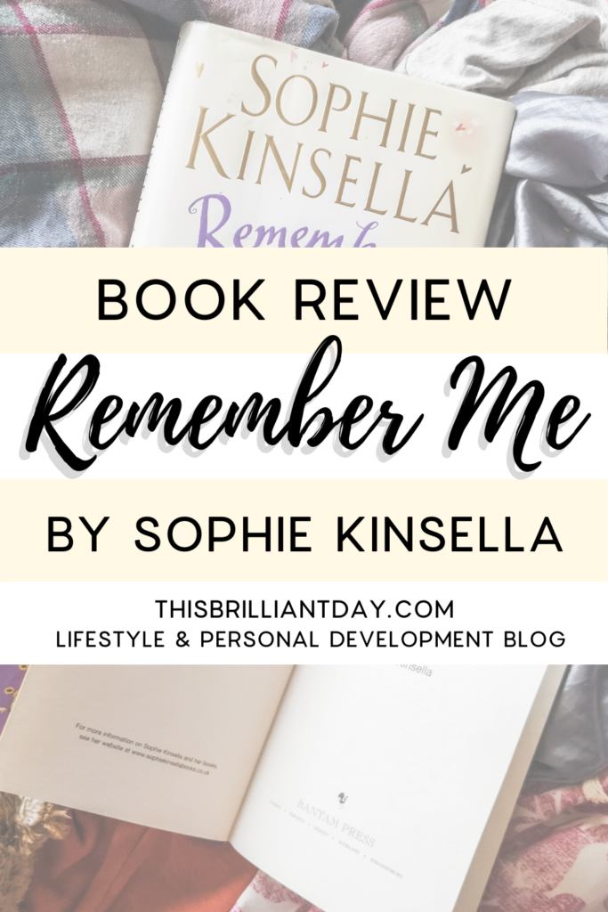 Remember Me by Sophie Kinsella - Book Review