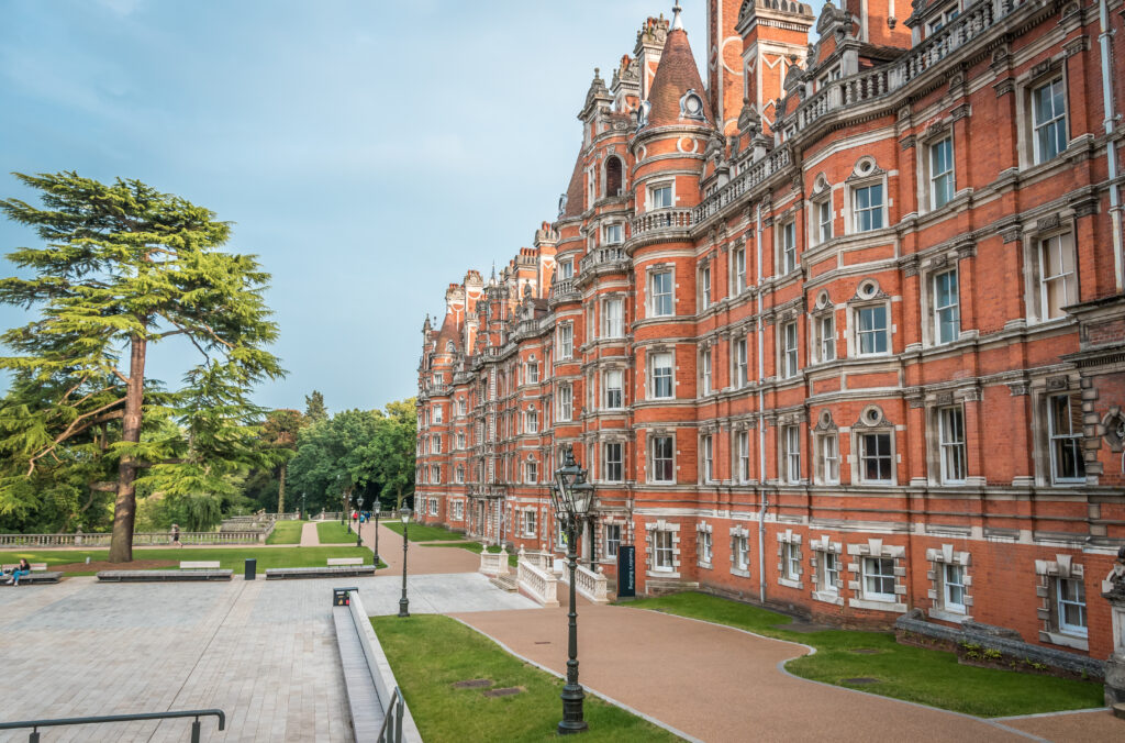 Founder's Building, Royal Holloway University of London.