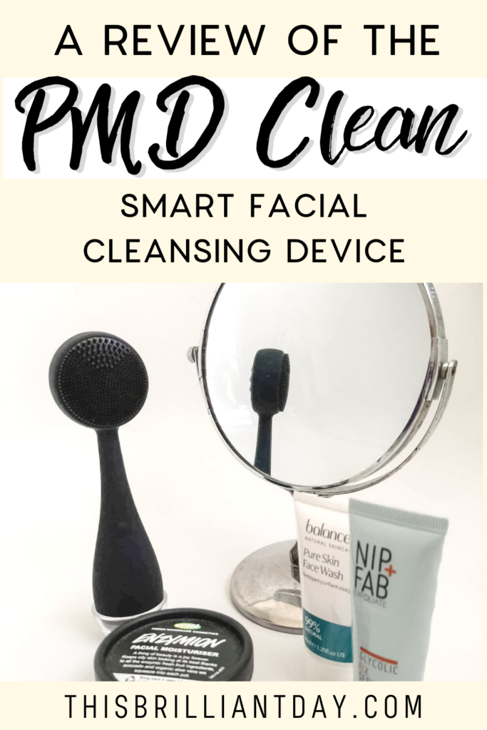 A review of the PMD Clean smart facial cleansing device
