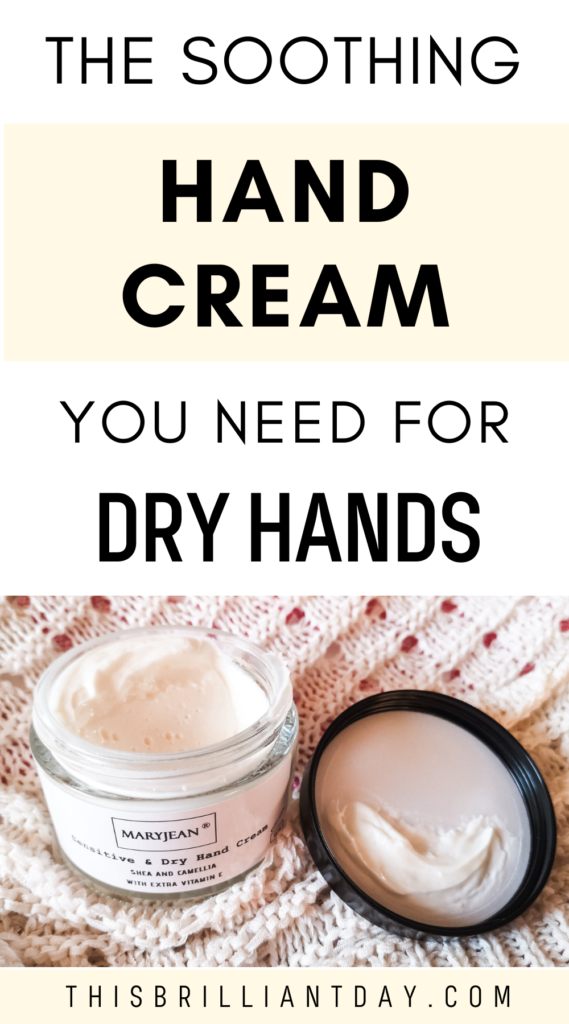 The Soothing Hand Cream You Need for Dry Hands