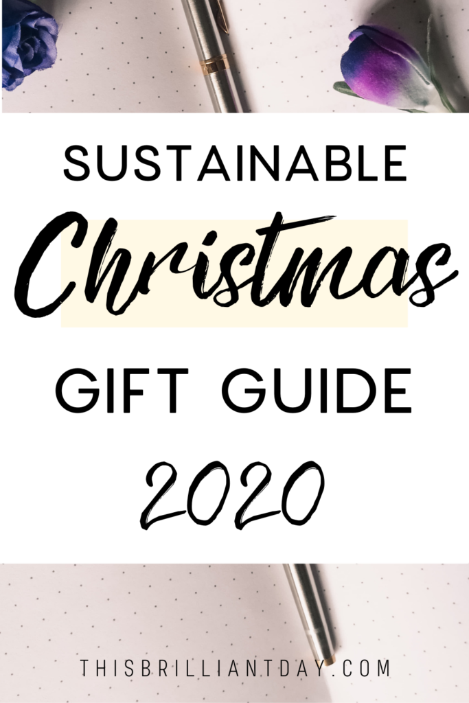 Sustainable Christmas Gift Guide 2020