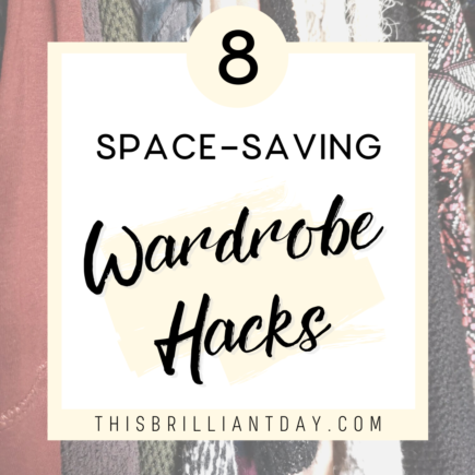 8 Space-Saving Wardrobe Hacks
