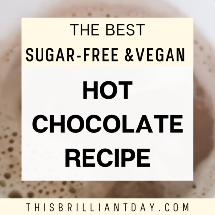 The best sugar-free and vegan hot chocolate recipe