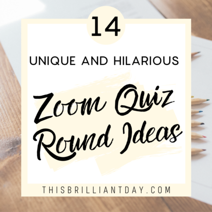 14 Unique and Hilarious Zoom Quiz Round Ideas