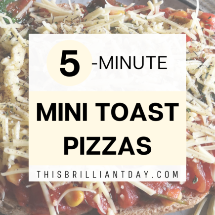 5-Minute Mini Toast Pizzas