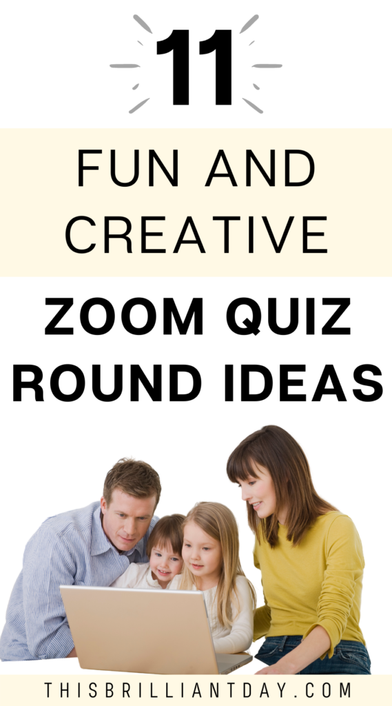 11 Fun and Creative Zoom Quiz Round Ideas
