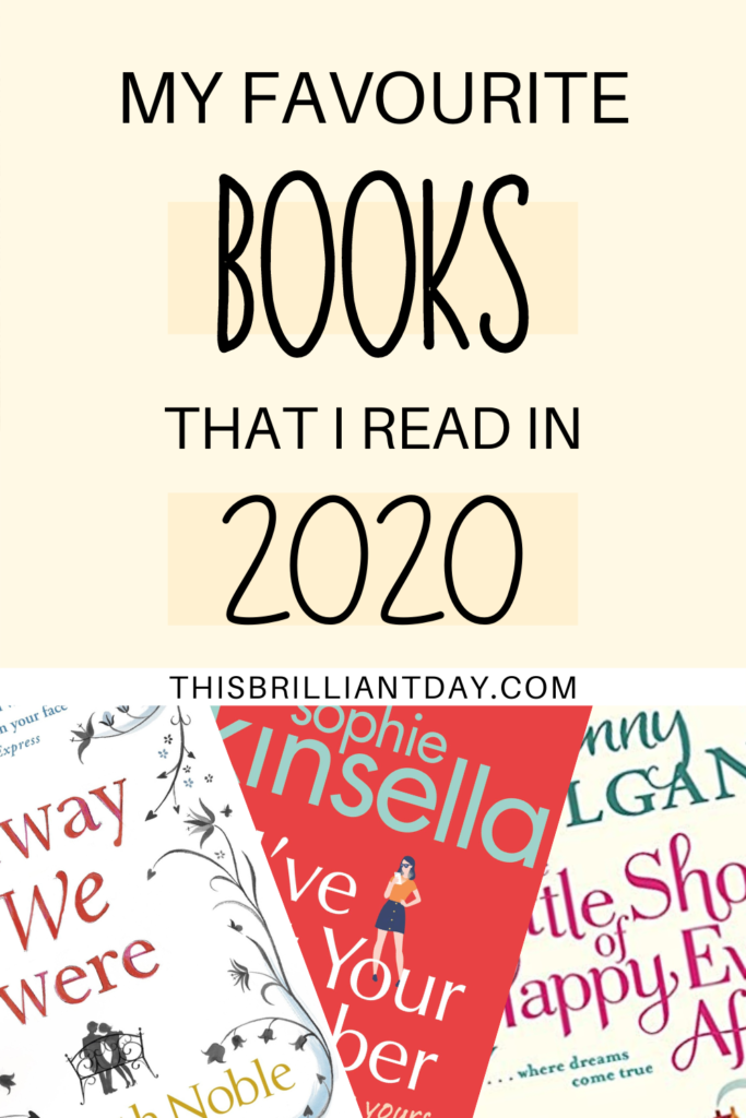 My Favourite Books That I Read in 2020