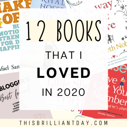 12 Books That I Loved In 2020