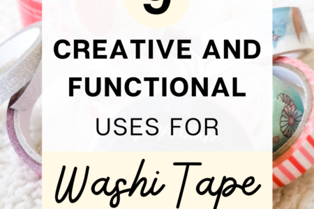 9 Creative and Functional Uses For Washi Tape