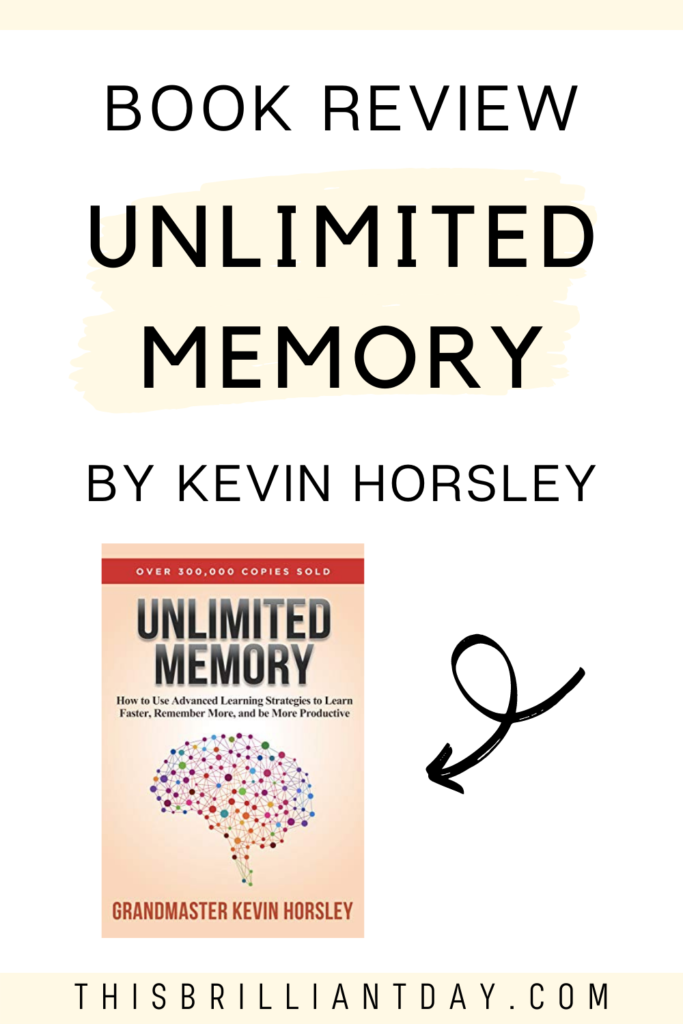 Book Review - Unlimited Memory by Kevin Horsley