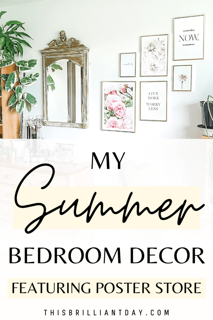 My Summer Bedroom Decor - Featuring Poster Store