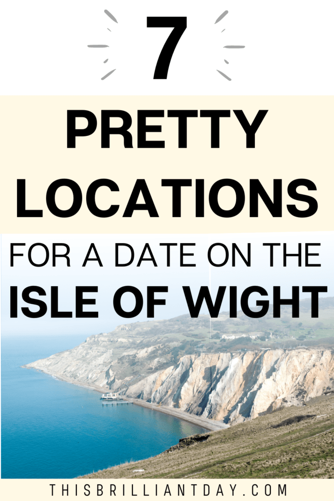 7 Pretty Locations for a Date on The Isle of Wight