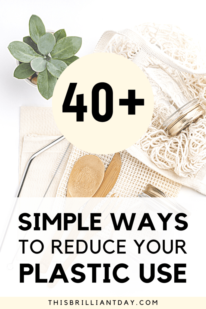 40+ Simple Ways To Reduce Your Plastic Use