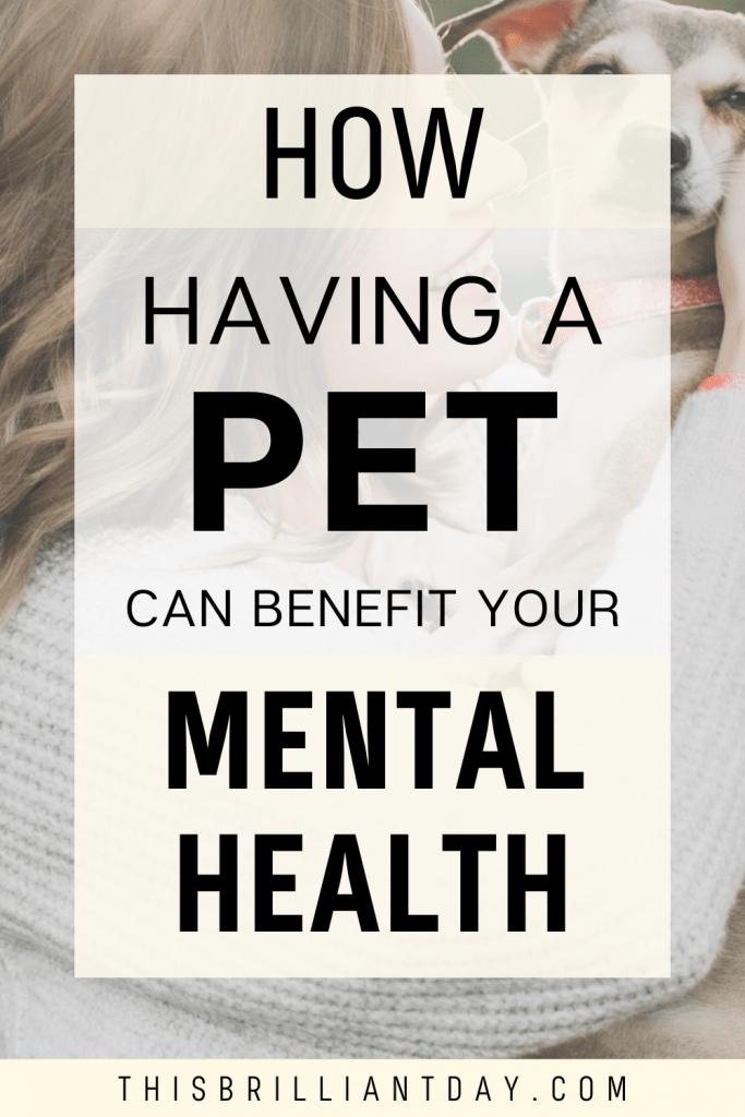 How Having A Pet Can Benefit Your Mental Health