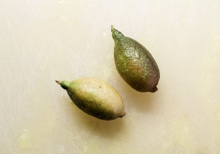 Two 'finger limes'