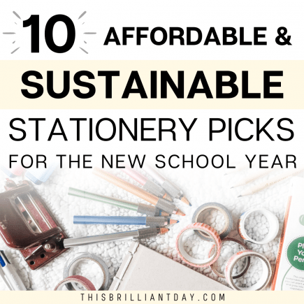 10 Affordable and Sustainable Stationery Picks For The New School Year