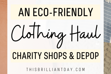 An Eco-Friendly Clothing Haul - Charity Shops and Depop